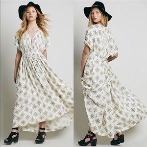 Free People Printed Oasis Maxi Dress